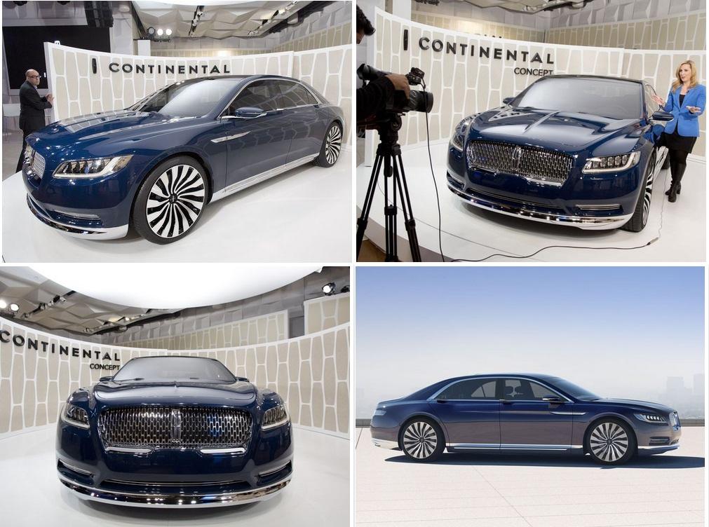 2016 Lincoln Continental Линкольн Континенталь 2016