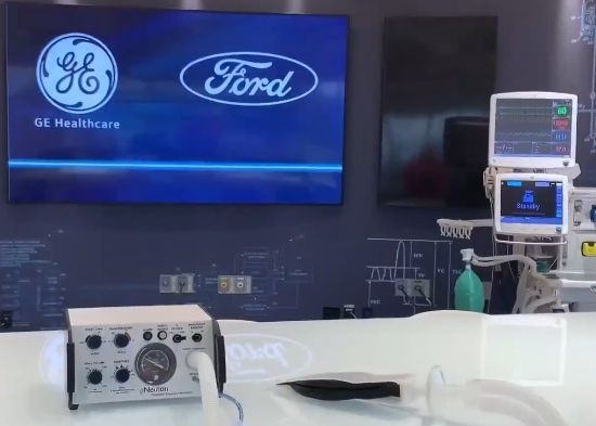 Ford automotive factory producing medical equipment to fight COVID-19