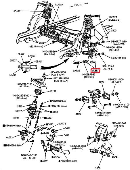амортизаторы задние на форд фокус 2 фото